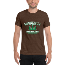 Load image into Gallery viewer, Minnesota Up to the Cabin Tri-blend T-Shirt