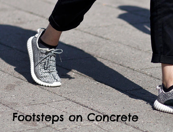 Free Sound Effects - Footsteps on Concrete