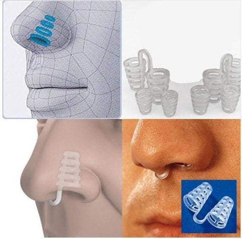 Image of Professional Anti Snoring Device Anti Snore Nose Clip Relieve Snoring Snore Stopping Health Care For Men Women