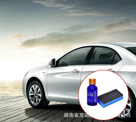 Image of Car Body Varnish Nano Liquid Glass Crystal Coating.