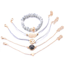 Load image into Gallery viewer, Fashion Bracelet For Women Set / 5 pcs