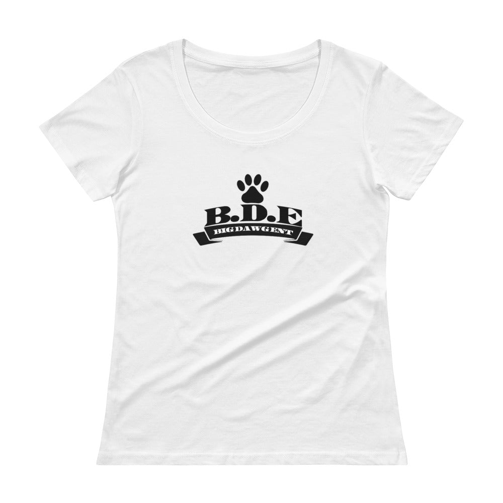B.D.E Original Logo - Women's Scoop Neck Shirt
