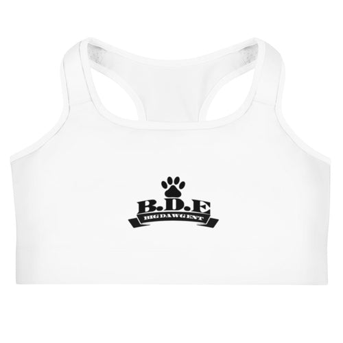 B.D.E Logo - Women's Sports bra