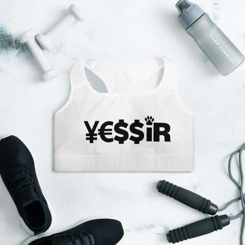 Padded Sports Bra-Y3ssir Collection