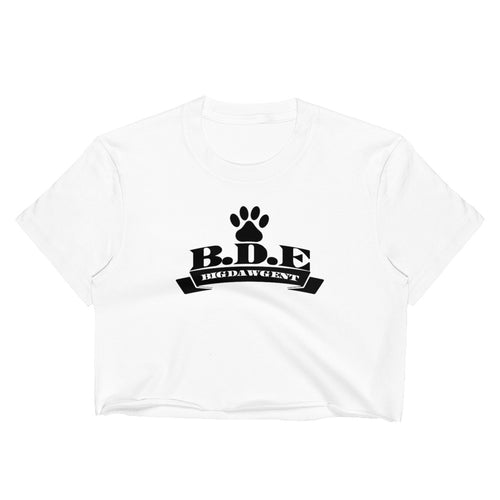 B.D.E. Original Logo - Women's Crop Top