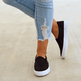 Mychelly Slip On Running Flat Sneakers