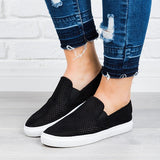 Mychelly Perforated Slip-On Sneakers