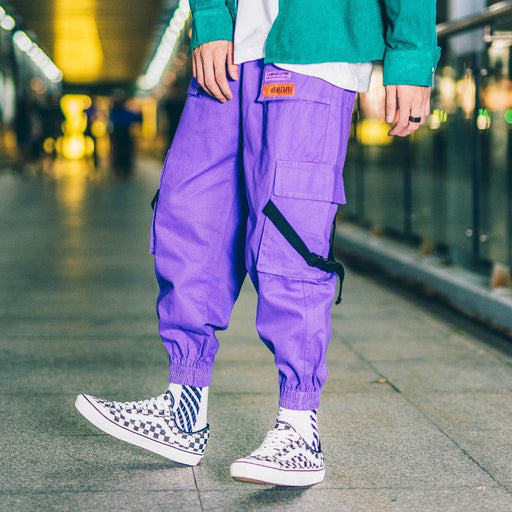 Japanese Loose Hip Hop Beam Fashion Pants