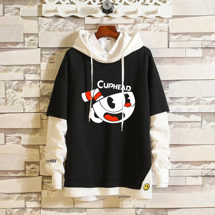 Anime Cuphead Cuphead Adventure Game Accessories Sweater