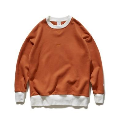 Contrast Color Embroidery Soft Core Light Japanese Street Sweater