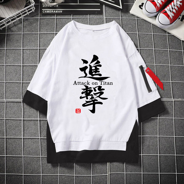Anime Japanese Short sleeve T-shirt