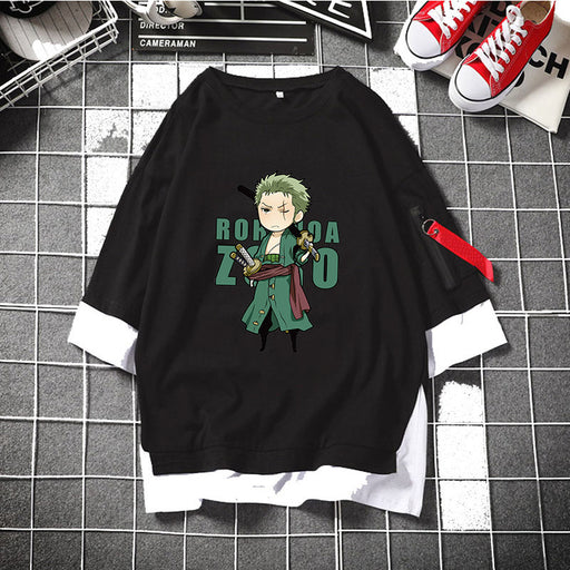 One Piece Anime Joe Bartholomews Teen Cartoon Trend T-shirt