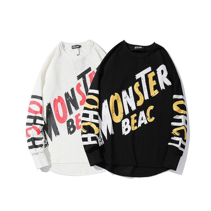 A Generation New Tide Sports Hip Hop Japanese Street Sweater