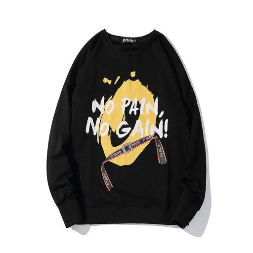 New Sweater Coat Japanese Street Hip-Hop Trend A Generation
