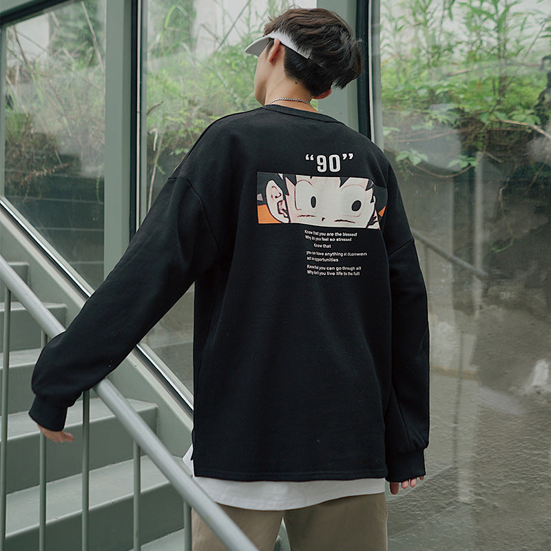 Manga Anime Japanese 90's  Sweatshirt
