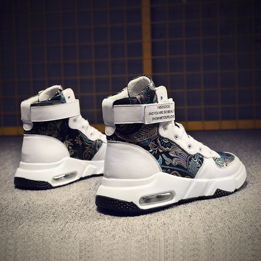 Japanese Street Cool Hip Hop High Top Sneakers