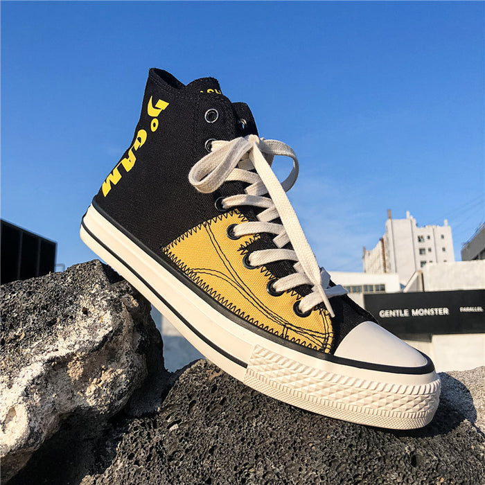 Japanese animation casual high-top sports canvas