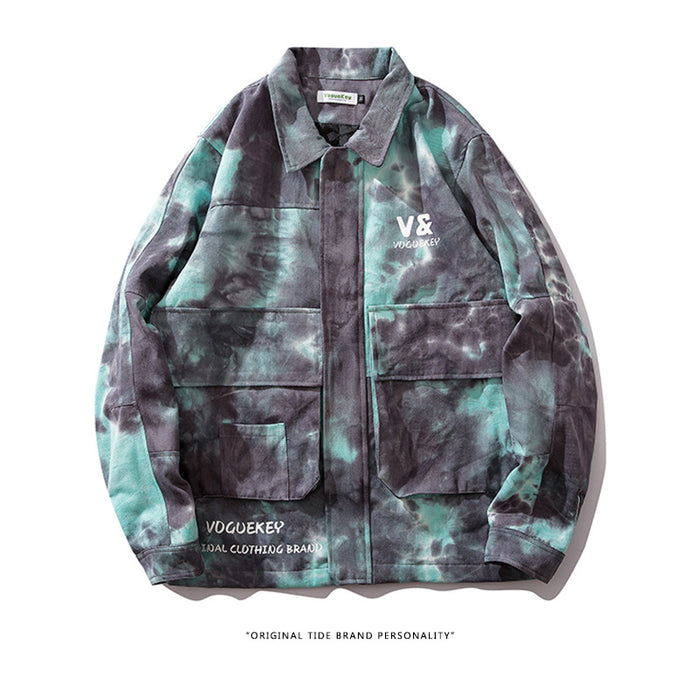 Kokoakeiko Rapper Autumn new tie dyeing