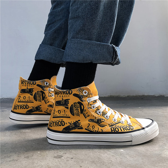 Japanese anime sneakers/high state canvas shoes