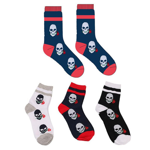 Grunge Skull and rose-socks