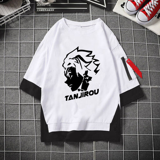 Japanese Anime  The Blade of Ghost Destruction Zatoman Tanjiro Youdouzi T-shirt