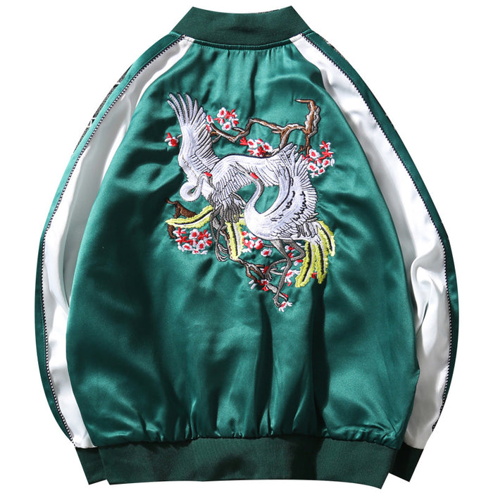 Sukajan Souvenir Jacket - Japanese Influence