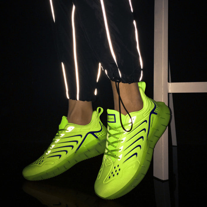 Japanese Trendy Reflective Camouflage Sneakers
