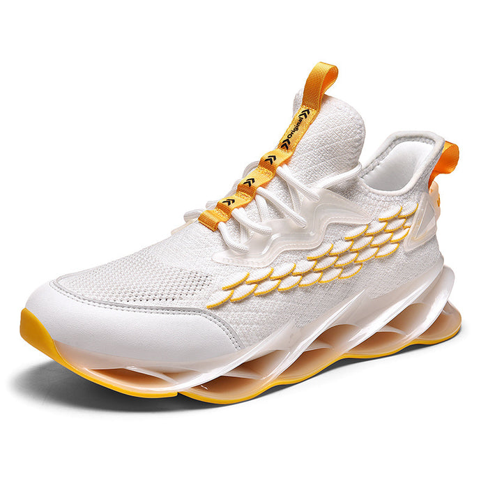 Japanese Trendy Male Blade Fish Scale Sneakers