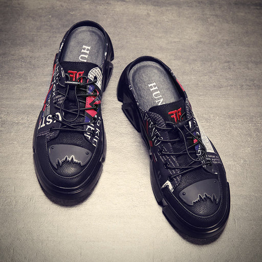 Japanese Street Cool Hip-Hop Trend Loafers