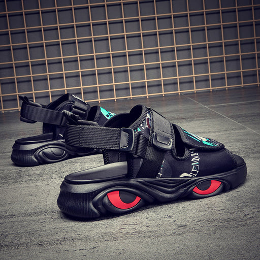Japanese men's street outdoor anime sandals