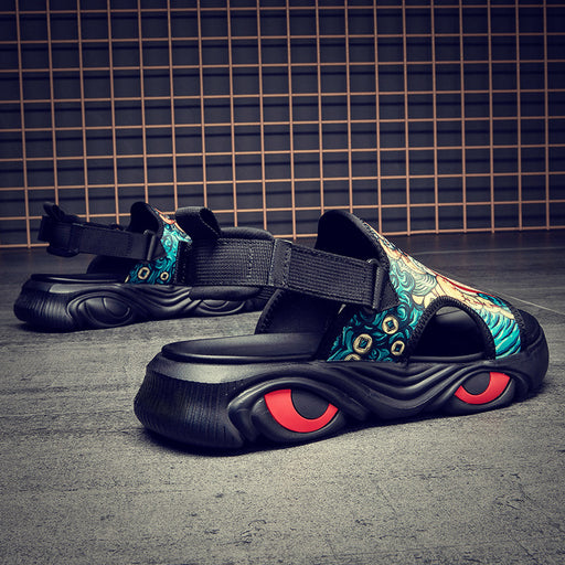 Japanese men's street outdoor ethnic sandals
