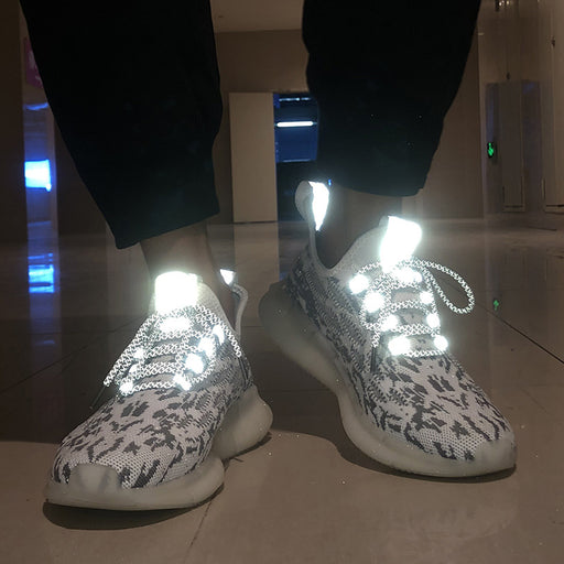 Japanese Trendy Reflective Coconut Popcorn Sneakers