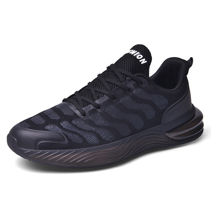 Japanese trendy male caterpillar breathable sneakers