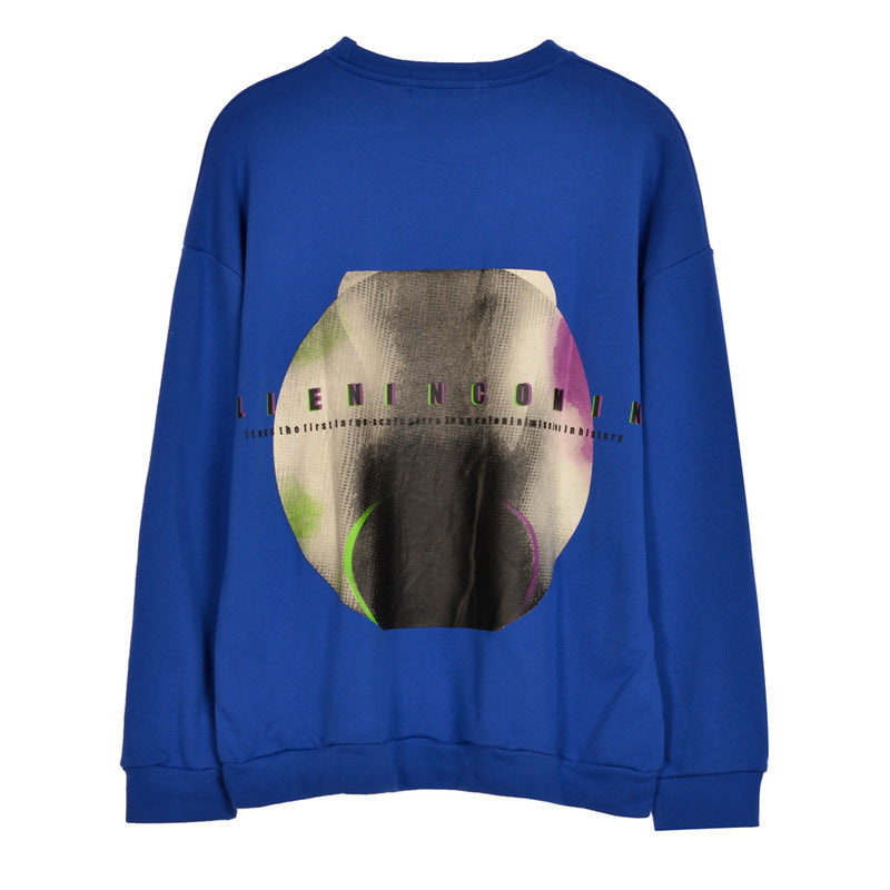 Japanese Hip hop crew neck  Sweatshirt