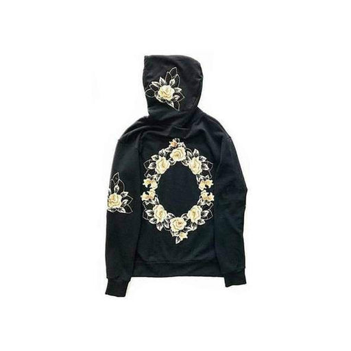 CE1 Floaral Embroidery Hoodie