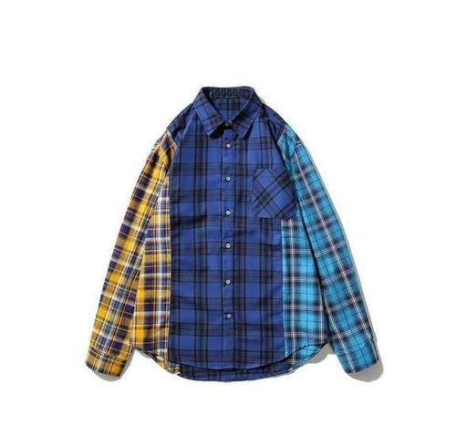 Japanese Vintage Shirt - Grid