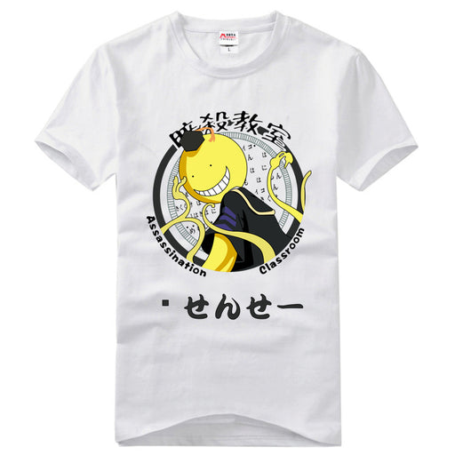Anime Japanese Assassination of the classroom, killing the teacher, Chao Tianzhu, Chi Yuye, anime t-shirt