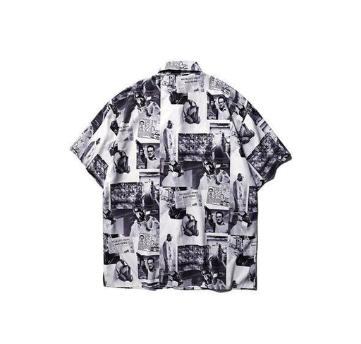 KV2 Newspaper Print Shirt