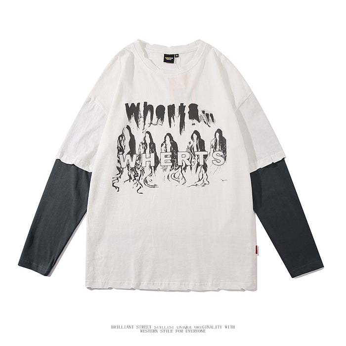 Japanese trendy brand dark hip-hop Sweatshirt