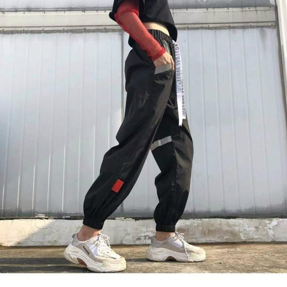YD1 Black Casual Joggers