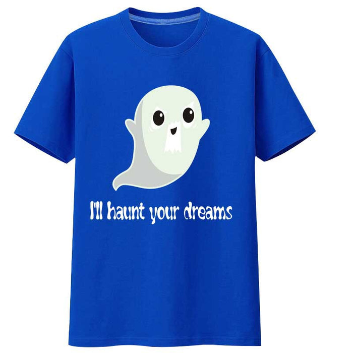 Anime Japanese I'll Haunt You ghost ghost luminous T-shirt