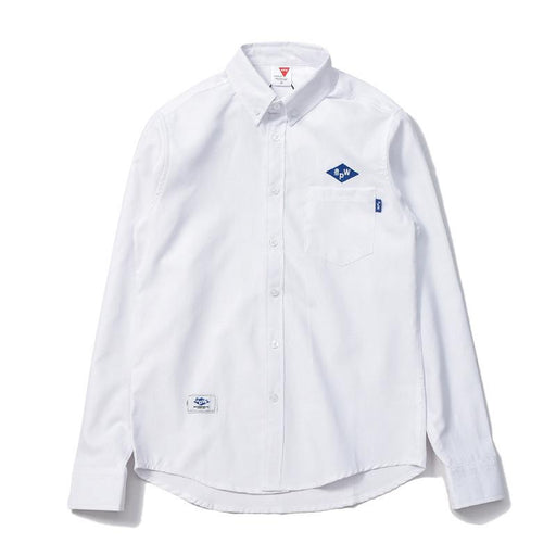 Solid Color Simple Wild Oxford Shirt Japanese Street Original Brand Trend