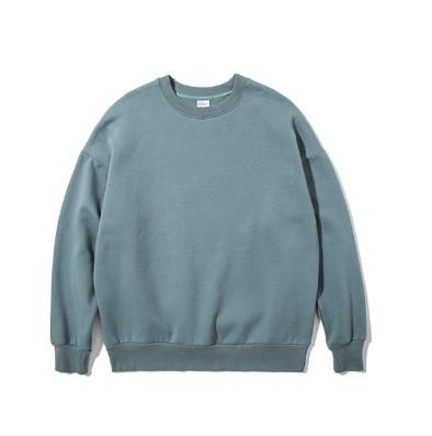 Oversize Plus Velvet Candy Off Shoulder Round Neck Japanese Street Sweater
