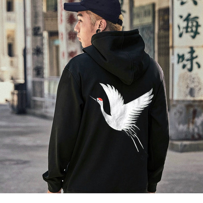 CRANE Embroidered Hoodie