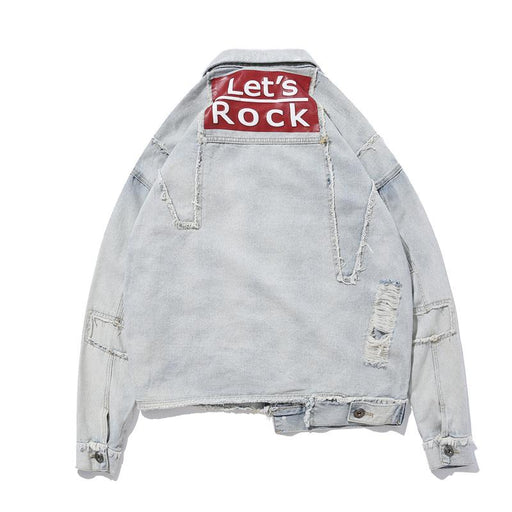 New Jacket Original Foreign Trade Japanese Street Denim Clothing