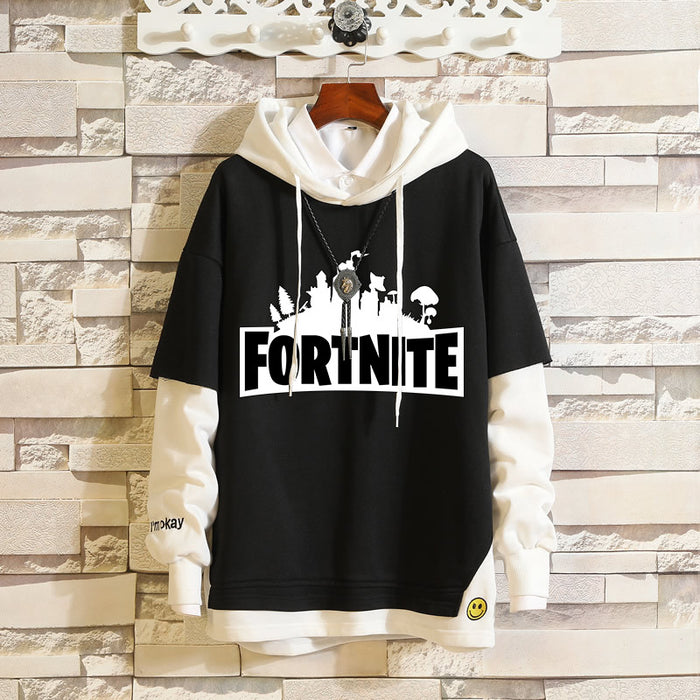 Japanese  Anime Fortnite All the villains Yae Sakura anime game fake two sweaters