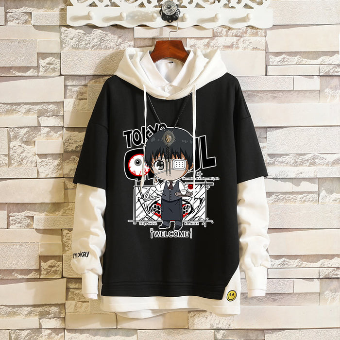 Japanese  Anime  Sword Art Online Tomb Note Bottle Evil Tokyo Ghoul Kamen Rider Hoodie