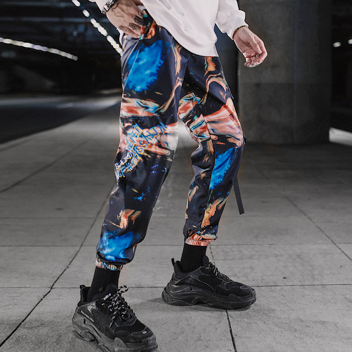 Japanese camouflage overalls hip-hop all-match trousers
