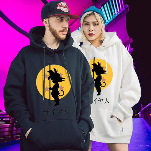 Anime Dragon Ball Z DBZ Japanese Street Pop Funny Hoodie