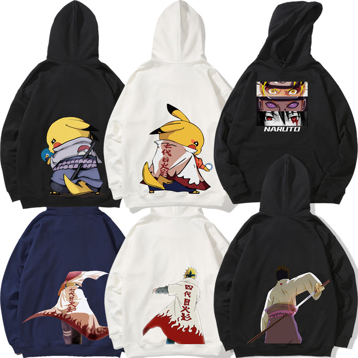Anime Pokemon Japanese Street Pop Funny Hoodie